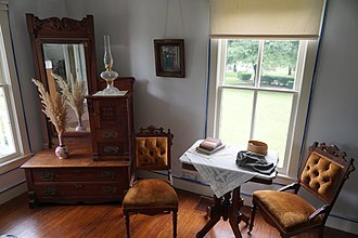 Eisenhower Birthplace State Historic Site - Image: Eisenhower Birthplace State Historic Site June 2017 3 (parlor)