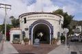 El Encanto restaurants & shops on Santa Catalina Island, a rocky island off the coast of California LCCN2013634900.tif