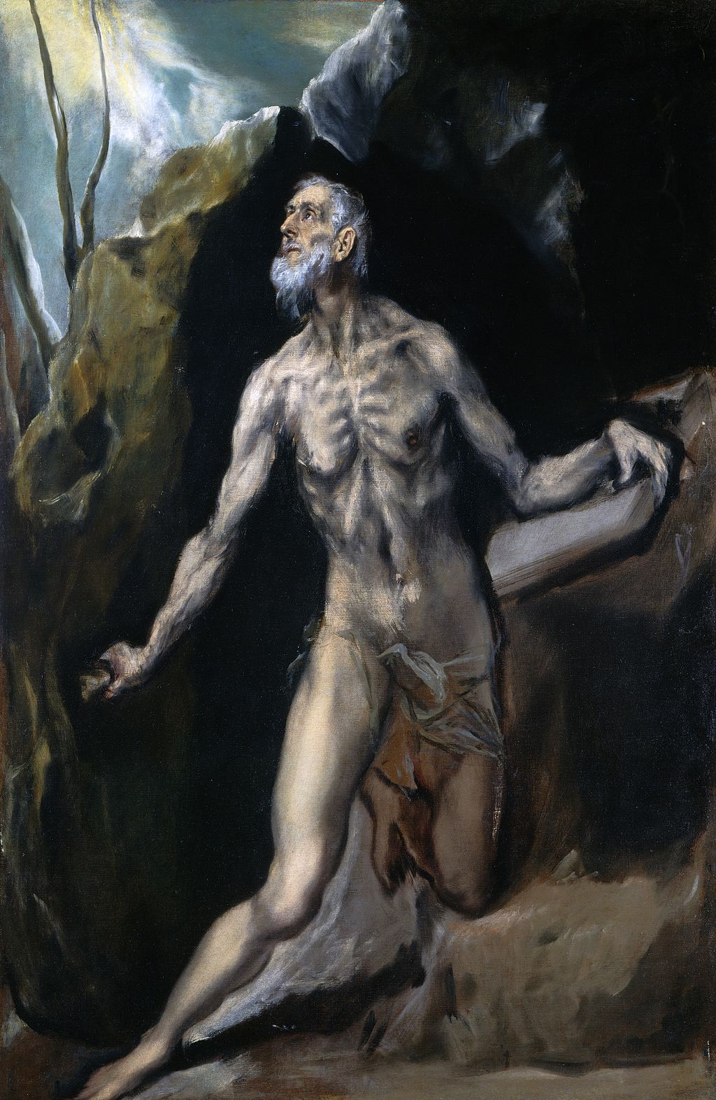 El Greco - Saint Jerome Penitent - WGA10627