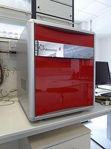 Analyseur élémentaire de marque Elementar produit introduit en 2011
