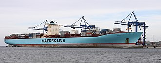 Maersk - Eleonora Mærsk, one of the E-class vessels