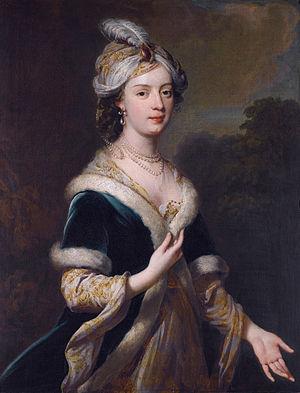 Nicholas Lechmere, 1st Baron Lechmere - Elizabeth Howard (1701-1739) (George Knapton, circa 1830)