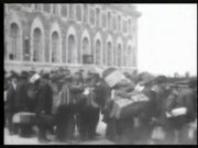 Ellis Island immigration footage