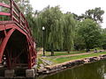 Elm Park, Wooden Bridge, Worcester, MA.JPG