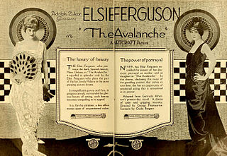<i>The Avalanche</i> (1919 film) 1919 film by George Fitzmaurice