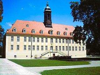 Elsterwerda Place in Brandenburg, Germany
