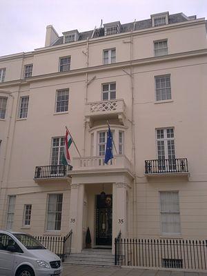 Embassy of Hungary, London - Image: Embassy of Hungary in London 1