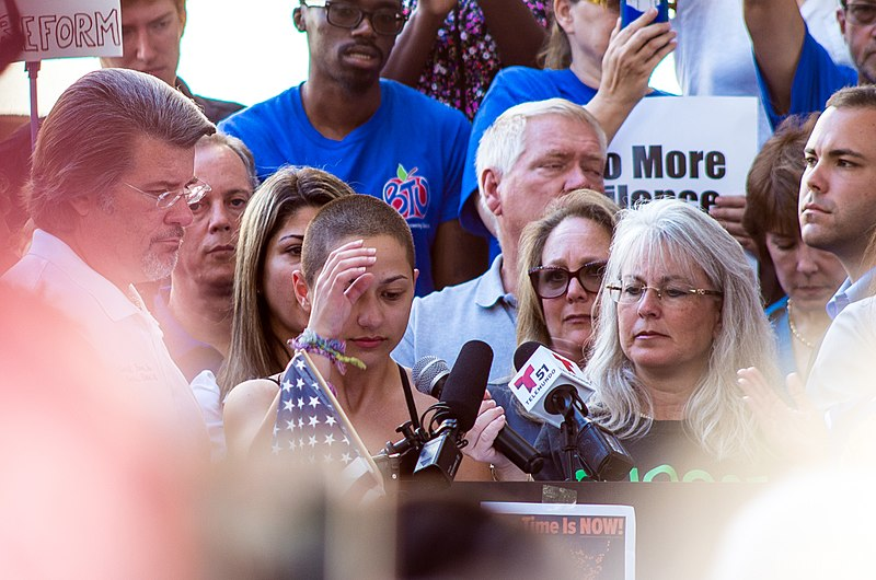 File:Emma Gonzalez at the Rally to Support Firearm Safety Legislation in Fort Lauderdale.jpg