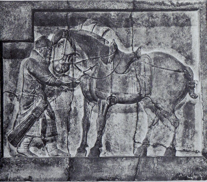Emperor Taizongs horses by Yan Liben