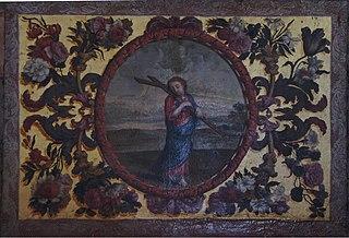Enfant Jésus portant sa croix
