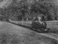 Engine No 4 and train, Eaton Hall Railway, Plate VIII (Minimum Gauge Railways).png