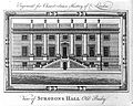 Engraving; view of Surgeons Hall Old Bailey, c. 1770 Wellcome L0017225.jpg