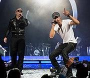 Enrique Iglesias and Pitbull 2015