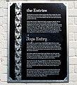 Entries plaque, Belfast - geograph.org.uk - 1608092.jpg