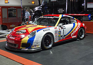 Entrust - An Entrust sponsored Porsche 997 GT3 Cup.