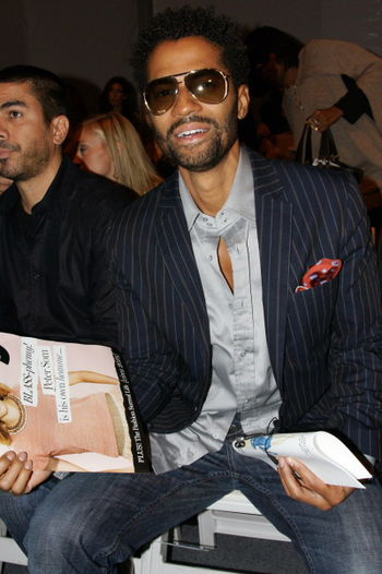 English: Eric Benet frontrow at NY Fashion Week
