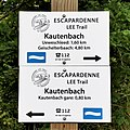 Escapardenne Lee Trail - balise directionnelle Kautenbach (101).jpg