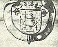 Escudo da Galiza no debuxo de Caminha de Pier Maria Baldi (1669).jpg