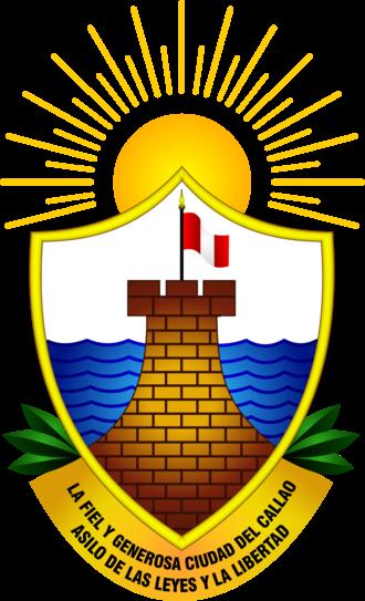 Coat of arms of Callao - Coat of arms of Callao