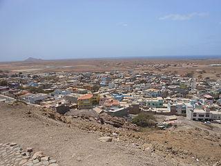 Espargos Settlement in Sal, Cape Verde