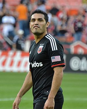 Fabián Espíndola - Fabián Espíndola Playing for D.C. United
