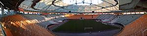 Estadio Ciudad de La Plata - Image: Estadio unico la plata panorama