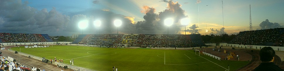 Andrés Quintana Roo Stadium, with a very slight increase in its capacity that intended, for Atlante F.C.