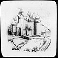 Estampe représentant le château de Bonaguil (avec restauration de Viollet-le-Duc) (5496716800).jpg