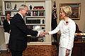 Estonian Ambassador H.E. Mr Andres Unga presents his credentials to the Governor-General of Australia H.E. Ms Quentin Alice Louise Bryce. 28.03.2013 (8597769370).jpg