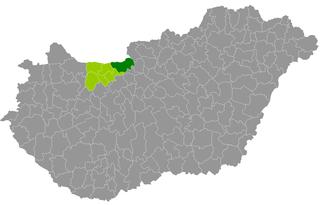 Esztergom District Districts of Hungary in Komárom-Esztergom