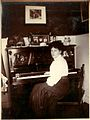Ethel Hook at her piano, c. 1907 (6623302349).jpg