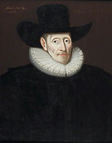 Eubule Thelwall (1562–1630) by Gilbert Jackson; kept at NLW.jpg