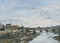 Eugène Boudin - Bridge over the Touques at Trouville.jpg