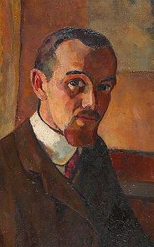 Eugen von Kahler - Self-portrait (date unknown)
