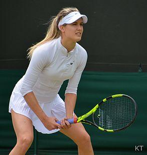 Eugenie Bouchard al Torneo di Wimbledon 2016