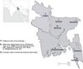 Euphlyctis kalasgramensis locality map.png