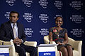 Euvin Naidoo and Juliana Rotich - World Economic Forum on Africa 2012.jpg