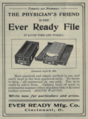 """Ever REady Mfg. Co. (""""American medical directory"""", 1906 advert).png"""