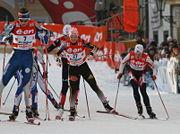 Evi Sachenbacher-Stehle at Tour de Ski