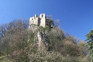 White Carpathians - The ruins of Lednica Castle