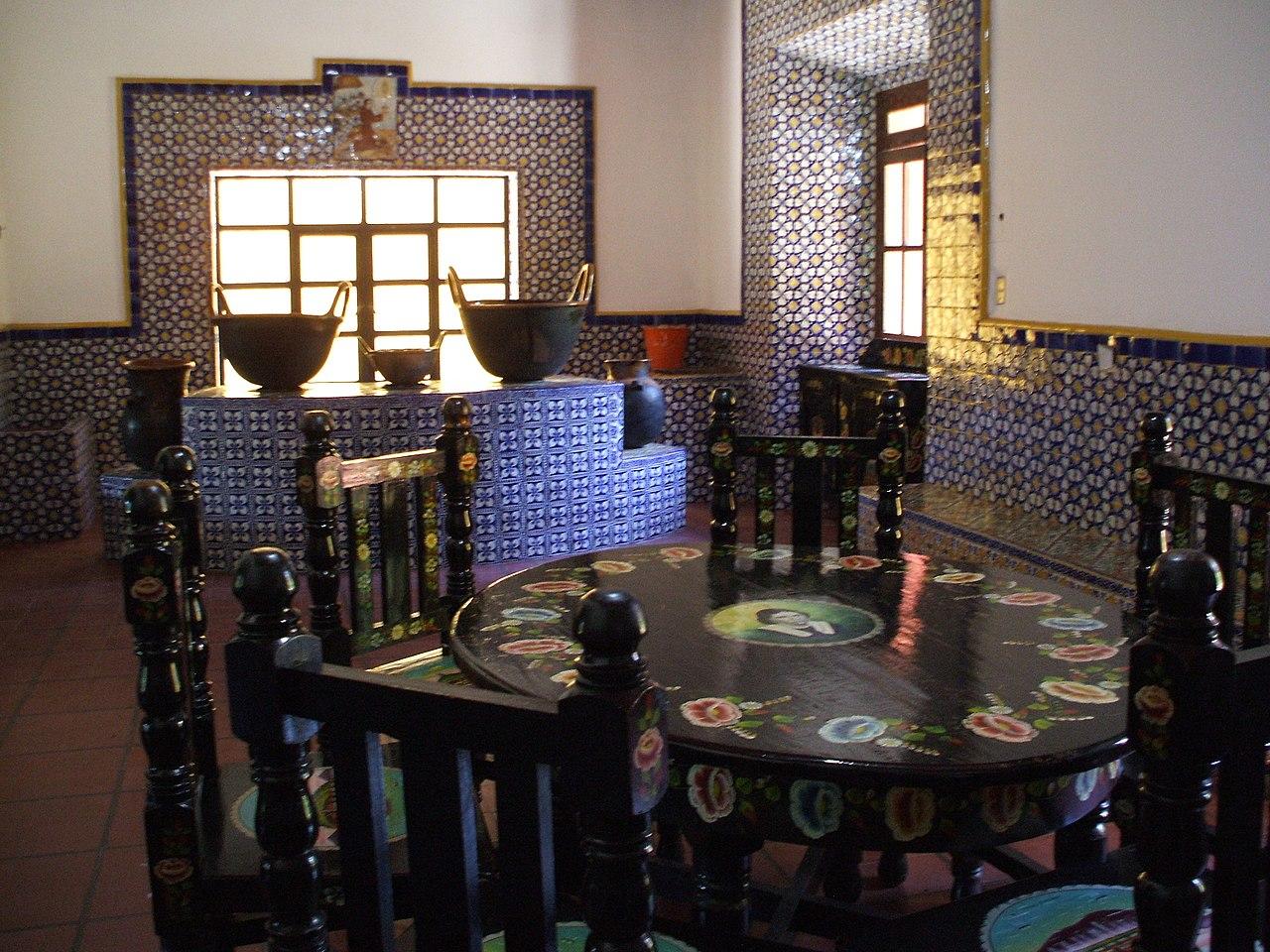 Licenciatura Decoracion De Interiores Puebla ~ File Ex Hacienda de Chautla, San Mart?n Texmelucan Puebla Comedor jpg