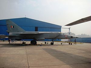 Indian Air Force Museum, Palam - MiG-25R of No. 102 Squadron IAF on display