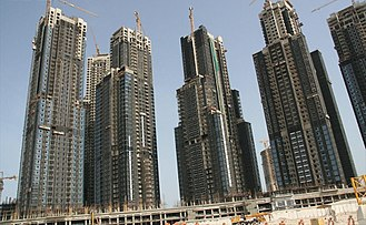 Executive Towers - Image: Executive Towers Under Construction on 22 June 2007 Pict 2