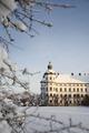 Exteriörbilder. Vinter - Skoklosters slott - 86493.tif