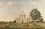 Exterior view of St James's Church, Delhi, 1836.jpg