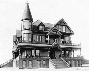 San Fernando, California - Mission Hotel in San Fernando, c. 1888