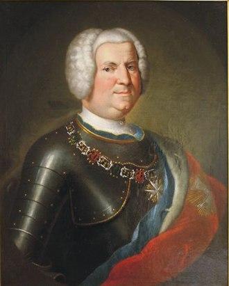 Günther XLIII, Prince of Schwarzburg-Sondershausen - Image: Fürst Günther I. von Schwarzburg Sondershausen (1678 1740)