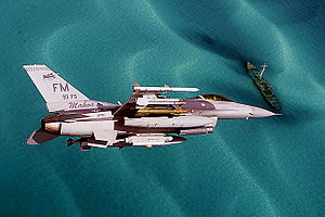 93d Fighter Squadron - A 93d Fighter Squadron F-16C Fighting Falcon in 2007