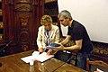 FDV Dacia Maraini e il direttore del festival.jpg