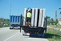 FEMA - FL4337 Flood damaged beds being loaded for destruction - Water damaged mattresses are part of the debris after Hurricane Irma's destructive path in Marathon, Florida.jpg